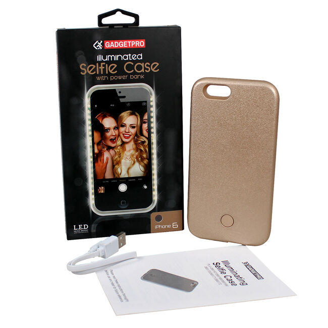 Gadgetpro Illuminated Gold Iphone 6 Case