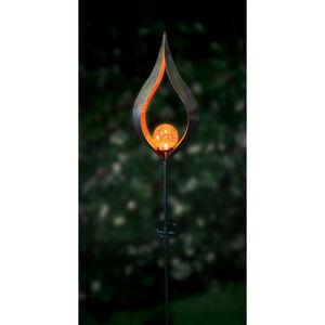 Tulip Sculpture Solar Stake Light