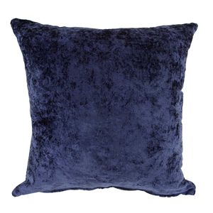 Velvet Crush Navy Cushion Cover 2Pk 45cm x 45cm