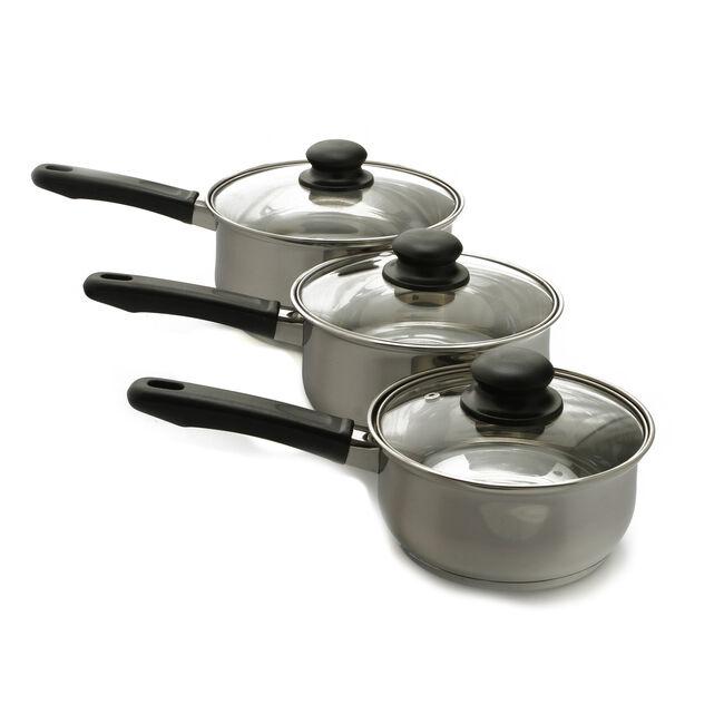 Dynamic Essential 3 Piece Cookware Set