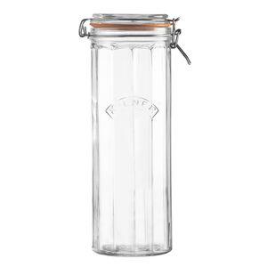 Kilner Facetted Cliptop Jar 22L