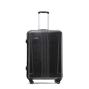 Large Brushed Charcoal Hardshell Luggage