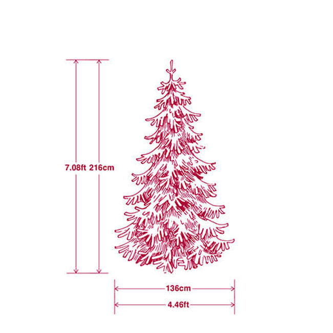 Colour Changing Tree with 240 LED Lights - 6ft