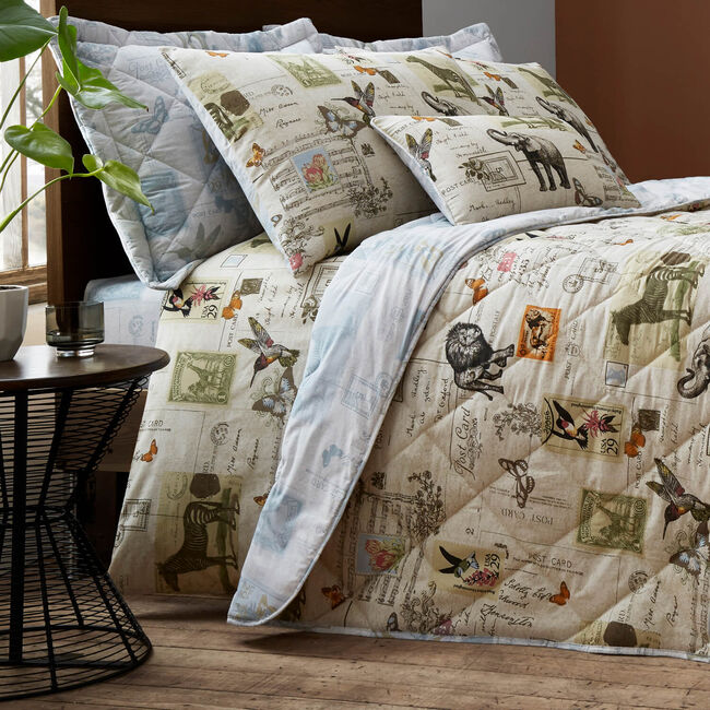 Safari Natural Bedspread 200x220cm