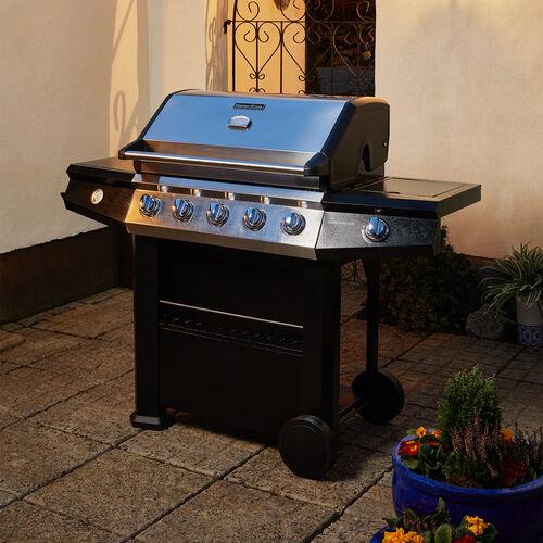 Master Cook Connoisseur 600 6 Burner Gas Barbecue