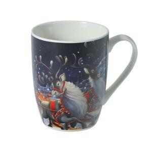 Santa and Sleigh Mug