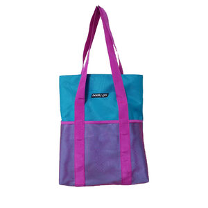 BodyGo Teal and Pink Tote Bag