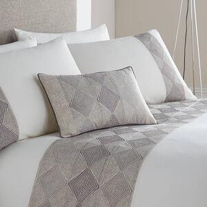 Bennett Charcoal Cushion 30cm x 50cm