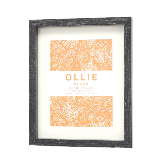 "Ollie Photo Frame 8x10"" - Black"