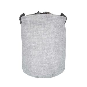 Northern Shore Fabric Laundry Hamper - Light Grey