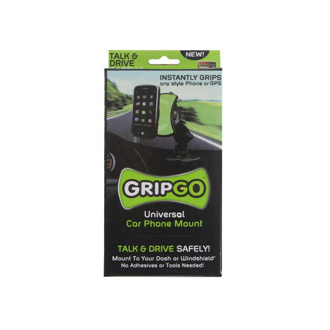 GripGo Universal Car Phone Mount