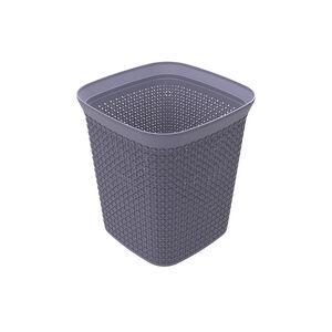 Ezy Mode 13L Squared Waste Bin Soft Violet