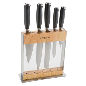 Prestige 5 Piece Knife Block Set