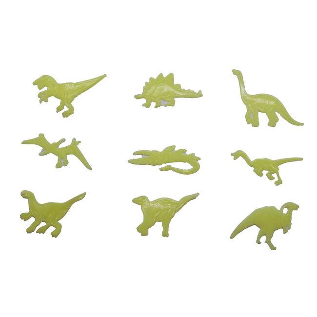 Glow In The Dark Dinosaur Stick-Ons