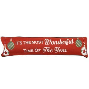 Wonderful Baubles Draught Excluder 22cm x 90cm