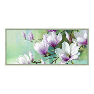 Magnolia Morning 47x108 Framed