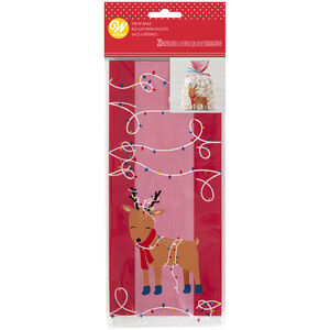 Wilton Reindeer 20 Party Bags