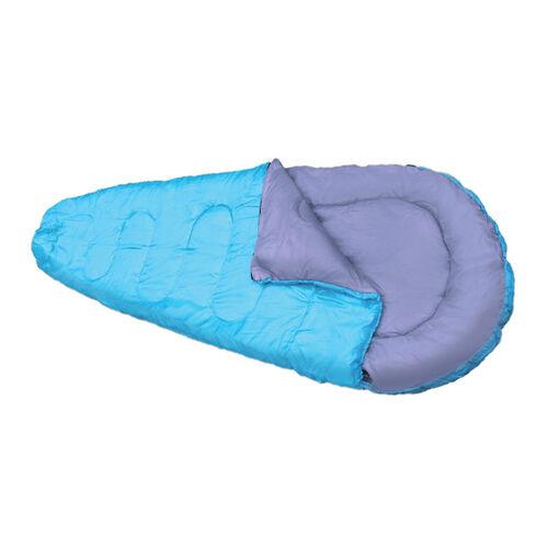 Blue Mummy Sleeping Bag