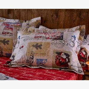 Vintage Santa Oxford Pillowcase Pair