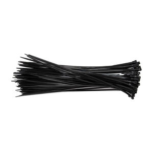 Black Cable Ties 370x5mm 100 pack of 100