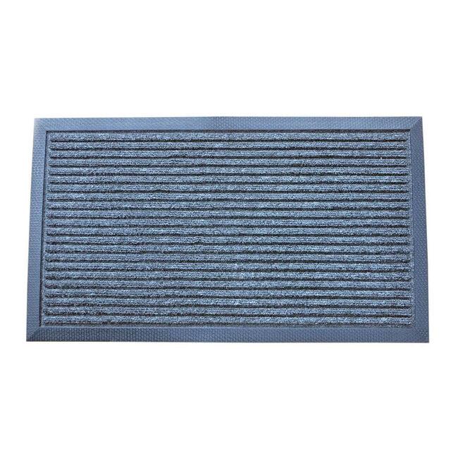 Esteem Stripe Door Mat 40x70cm - Charcoal