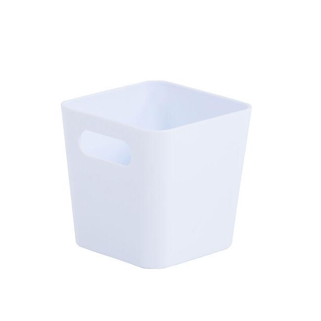 Studio 1.01 Square Basket Ice White