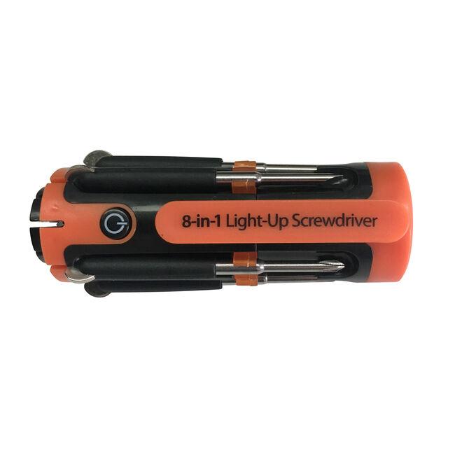 8-In-1 Lightup Screwdriver
