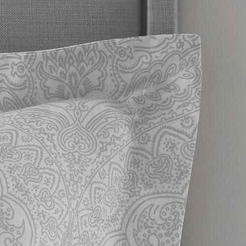 Gracie Oxford Pillowcase Pair - Grey