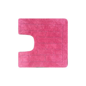 Cotton Brick Blush Pink Pedestal Mat 50cm x 50cm