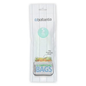 Brabantia Perfect Fit Compostable Bin Liners 6L
