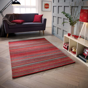 CARTER RED 90X150cm Rug