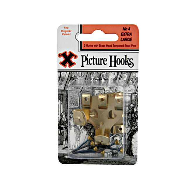 X Picture Hook Baynet No4