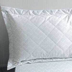 Industrial Stripe Mono Pillowshams 50cm x 75cm