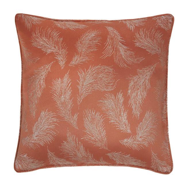Forest Leaf Cushion 58 x 58cm - Rust