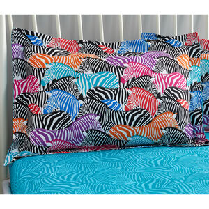 Zebra Oxford Pillowcase Pair