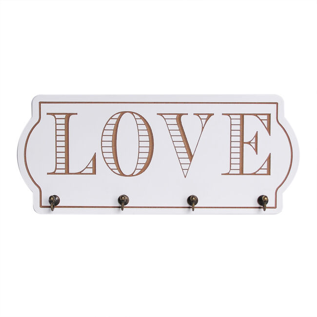 Love Prints with Hooks - Love