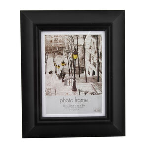 Simply Black Photo Frame 5x7""