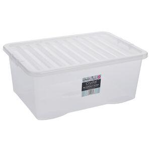 Crystal Box & Lid 45L - Clear