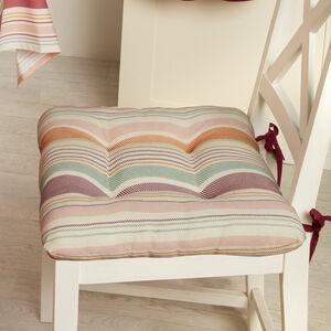 Woven Stripe Seat Pad