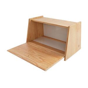 Rubberwood Bread Bin Drop Front