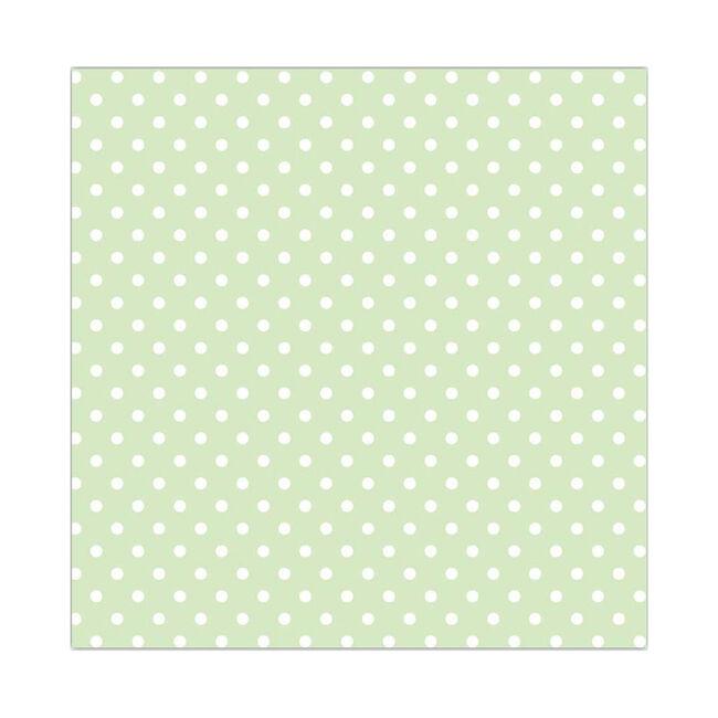 Polka Spot Pastel Green Napkins 20pk