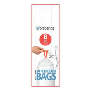Brabantia Perfect Bin Liners (B) 20 Pack