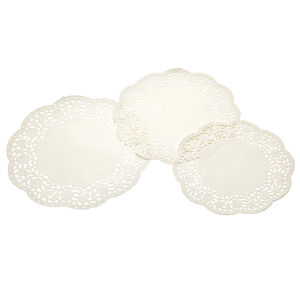 Kitchen Craft White Paper Doilies Set