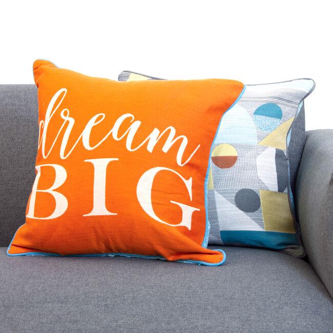 Geo Pop Cushion Cover 2 Pack 45x45cm
