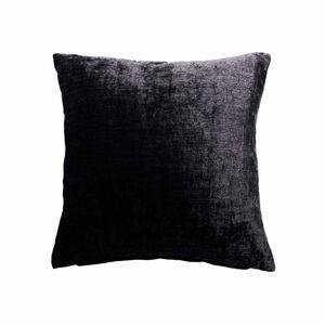 Hampton Black Cushion 58cm x 58cm