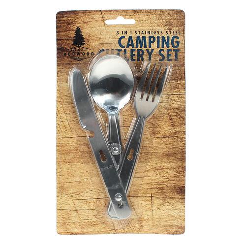 Camping 3 Piece Cutlery Set