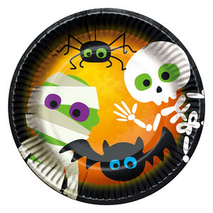 Halloween Under the Moon 6 Pack Paper Plates