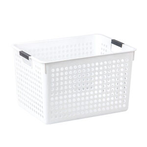Connect Storage Basket White 16L