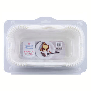 Paper Loaf Tin Liners 40 Pack