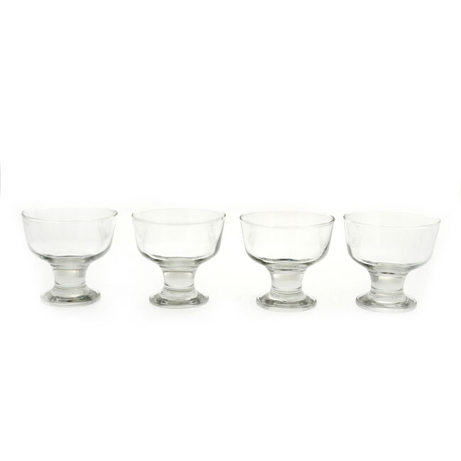 Tulip Ice Cream Sundae Glasses 4 Pack